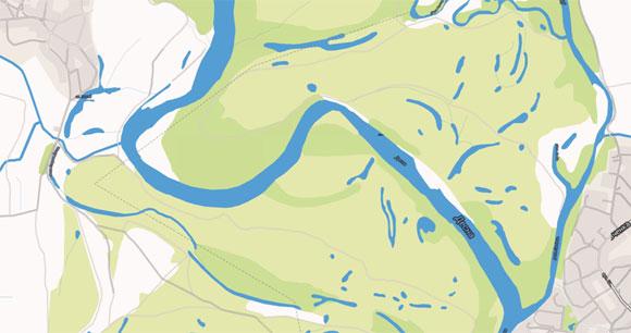 Другие типы карт стремятся отобразить различные элементы максимально контрастными цветами