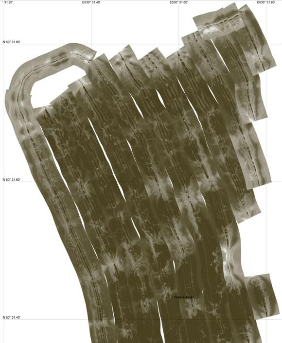 Структурная карта для эхолотов Lowrance